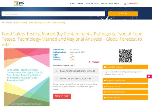 Food Safety Testing Market'