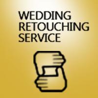 Wedding retouching Logo