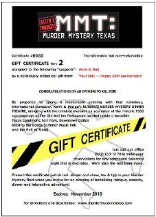Murder Mystery Texas'