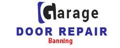 Company Logo For Garage Door Repair Banning'