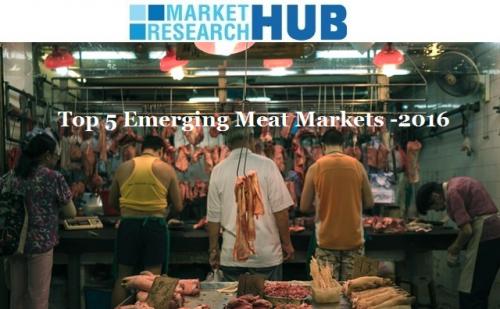 Top 5 Emerging Meat Market'