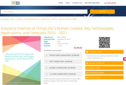 Industrial Internet of Things (IIoT) Market Outlook'