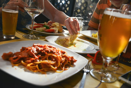 Restaurant food'