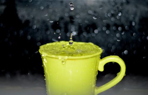 Yellow mug'