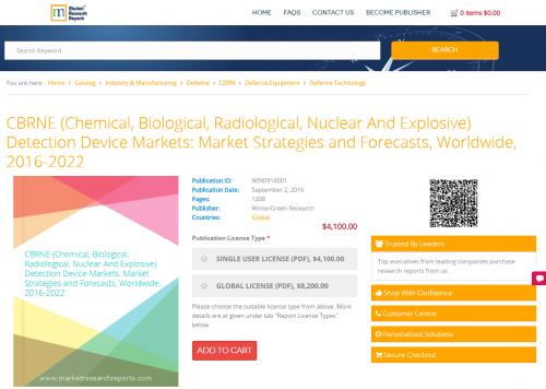 CBRNE (Chemical, Biological, Radiological, Nuclear'