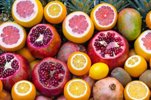 Orange-fruits'