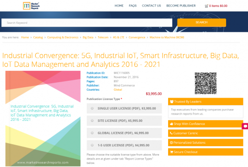 Industrial Convergence: 5G, Industrial IoT'