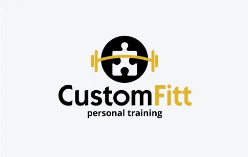 Company Logo For CustomFitt Personal Training'