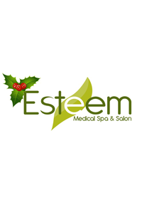 Christmas Logo For Esteem Medical Spa and Salon'