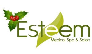 Christmas Logo For Esteem Medical Spa & Salon'