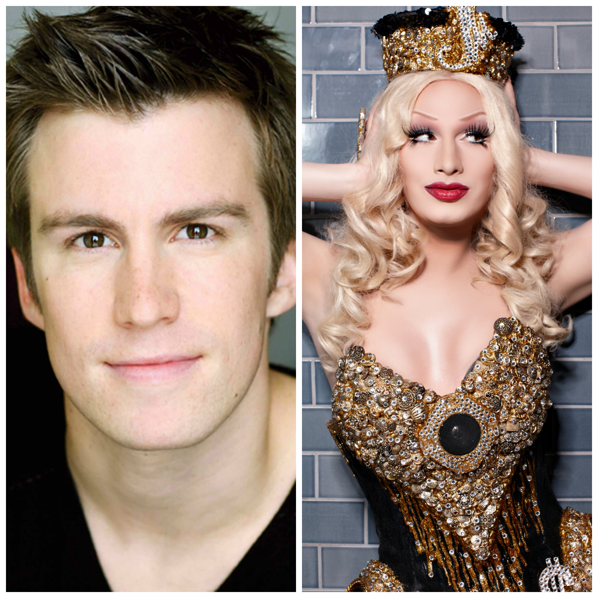 Gavin Creel and Jinkx Monsoon live at NOCCA