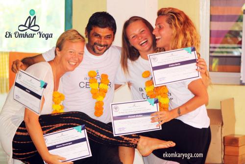 Ek Omkar Yoga Center TTC Graduation Ceremony'