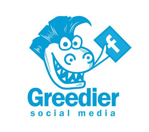 Company Logo For Greedier Social Media'