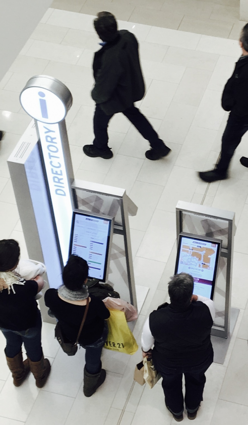 Express Image LCD touch screen kiosks'