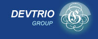 Logo for Devtrio GROUP'