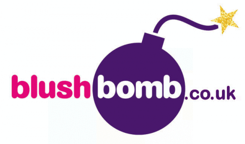 Logo for BlushBomb.co.uk'