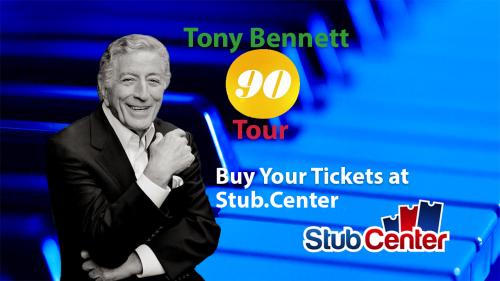 Tony Bennett 90 Tour Tickets'