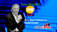 Tony Bennett 90 Tour Tickets