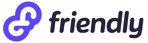 Company Logo For Friendly App'