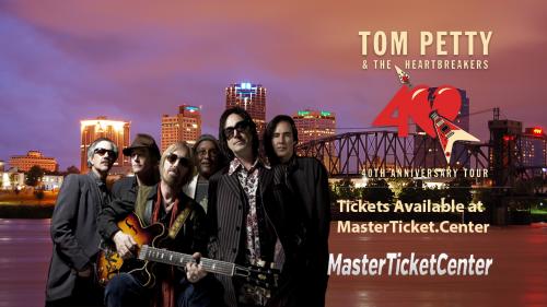 Tom Petty Tickets Verizon Arena Little Rock, AR MTC'