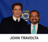John Travolta and Sam Komeha'