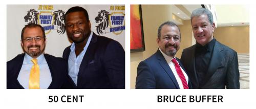 3 50 Cent & Bruce Buffer with Sam Komeha'