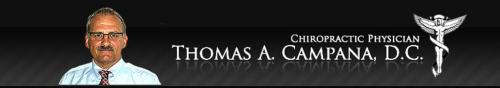 Dr. Thomas Campana chiropractor'
