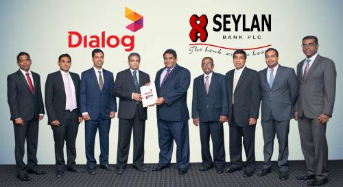 Seylan Bank and Dialog Axiata'