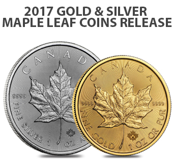 2017 Gold and Silver Maple Leafs'