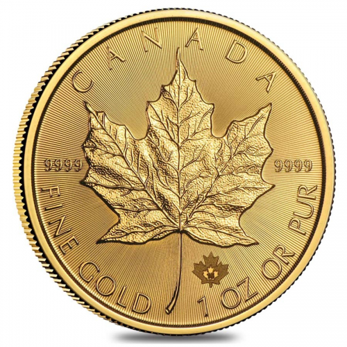2017 1 oz Canadian Gold Maple Leaf $50 Coin'