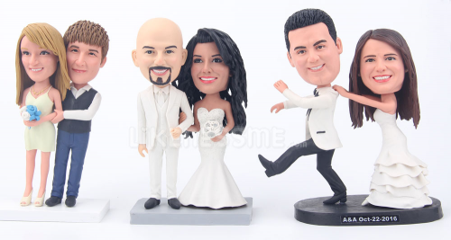 Custom Bobbleheads-The best Gift For The Bridesmaids'