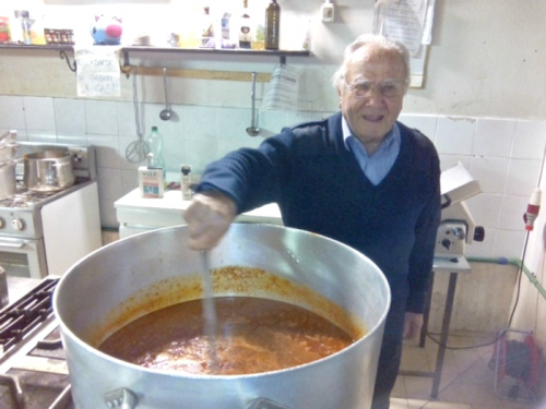 Dino Impagliazzo feeds more than 250 people every day'