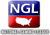Logo for National Gaming League'