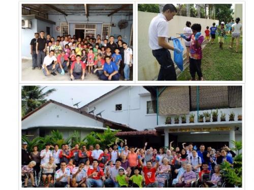 Volunteers from Rentokil Initial'