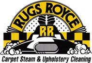 Rugs Royce Carpet, Tile & Grout Cleaning Logo