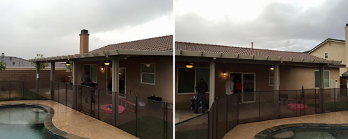 electrical wiring patio cover'