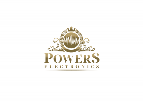 Powers Electronics Logo'