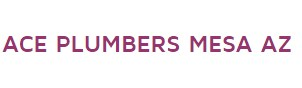 Company Logo For Ace Plumbers Mesa AZ'