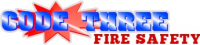 Code Three Fire and Safety Logo