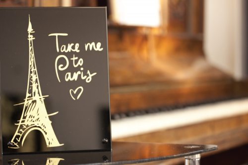 TAKE ME TO PARIS'