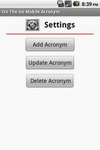 OTGA directory settings'