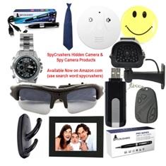 SpyCrushers Spy Camera'