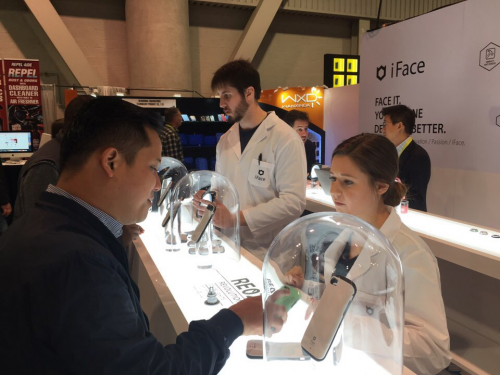 iFace at CES 2017'