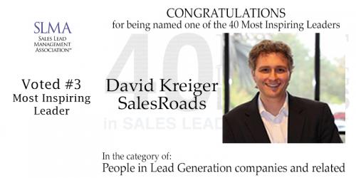 David Kreiger SLMA Voted 3'