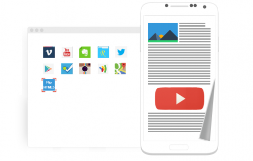 FlipHTML5 Now Quickly Creates Android Magazine Reading App'