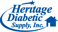 Heritage Diabetic Supply Logo