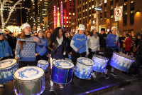 FogoAzul NYC Brazilian Samba Drumline Marching Band