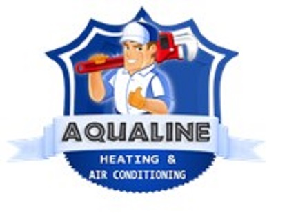 Company Logo For Aqualine Heating And Air Conditioning Gilbe'