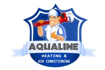 Company Logo For Aqualine Heating And Air Conditioning Surpr'