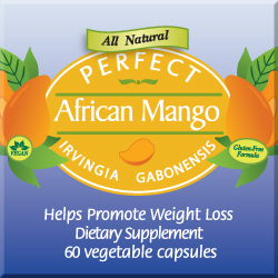 Perfect African Mango Label'